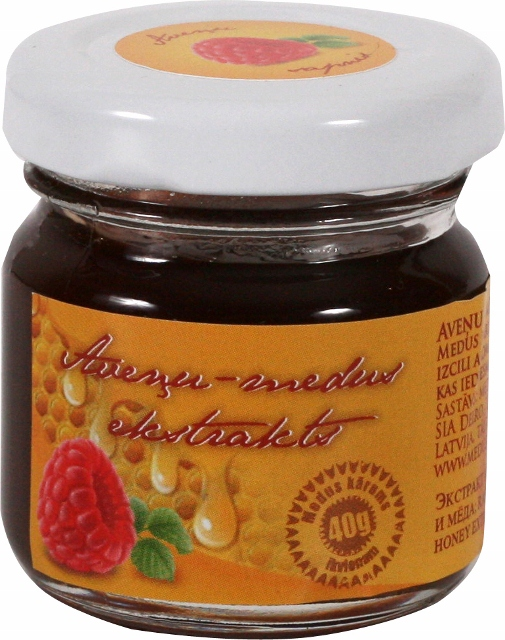 Raspberry honey extract